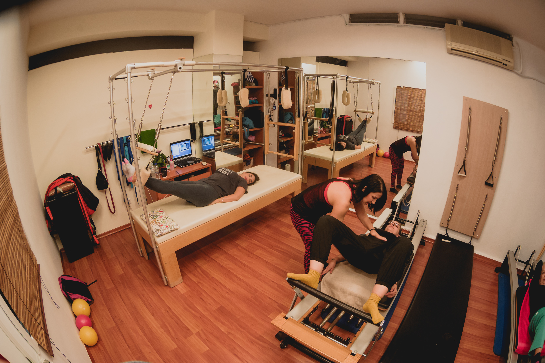 32€ για πέντε (5) συνεδρίες Pilates Reformer & ΔΩΡΟ μία (1) συνεδρία EMS στο Train Track Gym στην Κηφισιά!! Αρχικής αξίας 65€ - Έκπτωση 51%