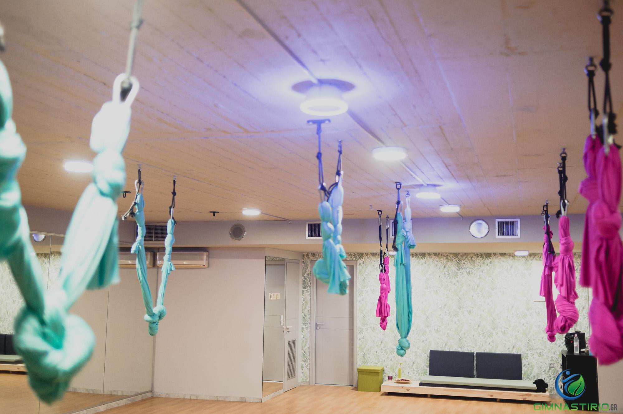 29€ για έναν (1) μήνα συνδρομή στο πρόγραμμα Aerial Yoga στο γυμναστήριο Caestus στη Νέα Ιωνία! Αρχικής αξίας 65€ - Έκπτωση 55%